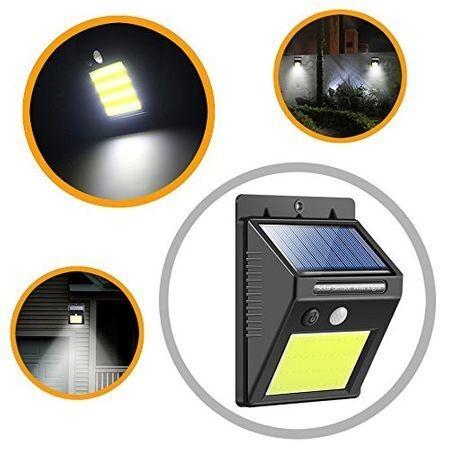 Соларна LED лампа с 30 диода със сензор за движение М19-288
