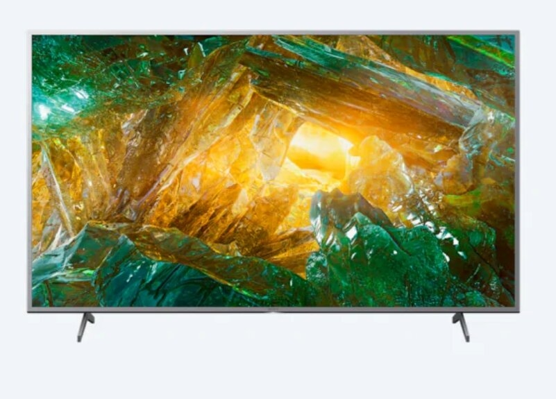 Sony KD-49XH8077 49' 4K HDR TV BRAVIA, Edge LED with Frame dimming, 4K HDR Processor X1,Triluminos, XR 400Hz ,Dolby Atmos ,DVB-C / DVB-T/T2 / DVB-S/S2, USB, Android TV, Voice Remote, Silver