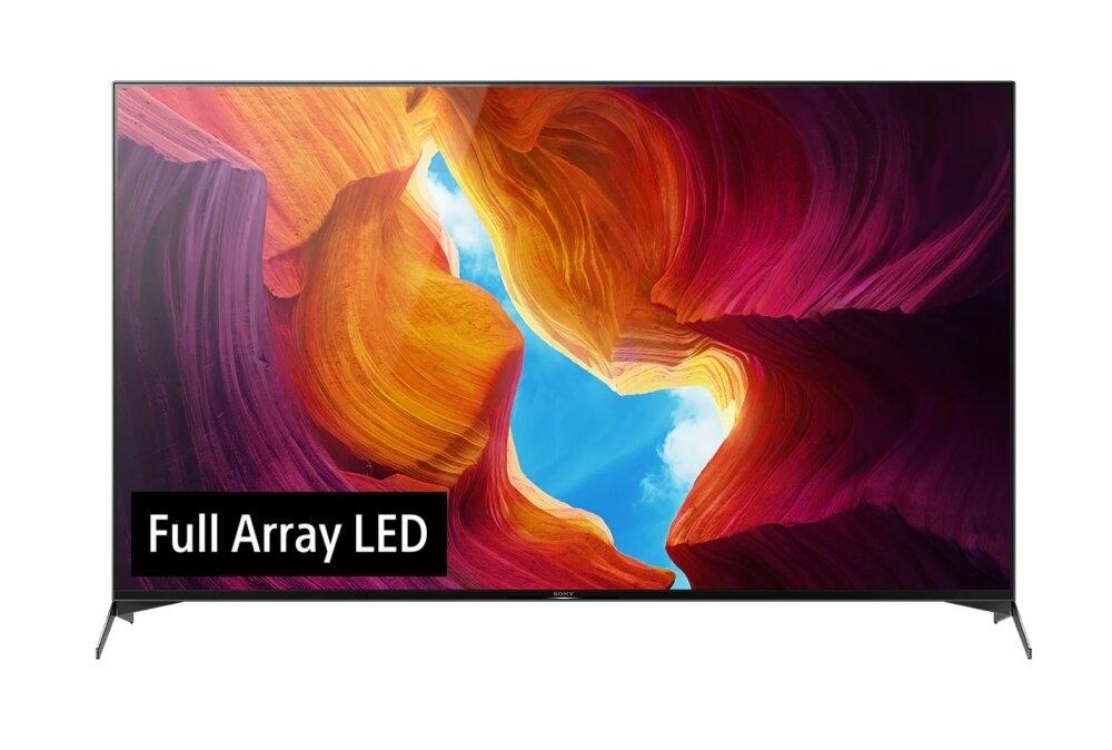 Sony KD-65XH9505 65' 4K HDR TV BRAVIA , Full Array LED ,X1 Ultimate, Triluminos, X-tended Dynamic Range PRO, X-Motion Clarity; Auto mode, Acoustic Multi Audio; X-Balanced Speaker, DVB-C /